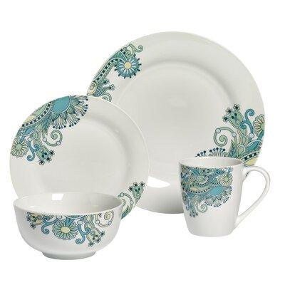 Townville 16 Piece Dinnerware Set, Service for 4 ANDV3214 44324823