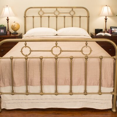 Barrington Panel Bed Size: California King