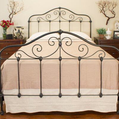 Chardonnay Panel Bed Size: Double