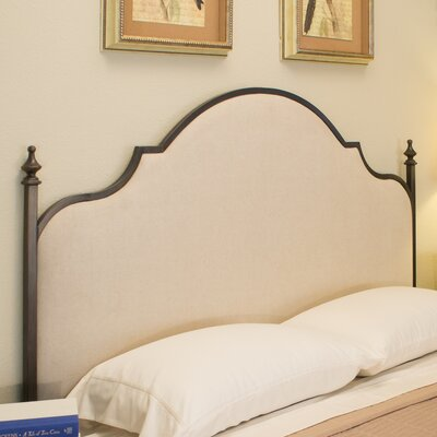 Waterburg Upholstered Panel Headboard Size: Double