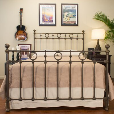 Marksburg Panel Bed Size: California King