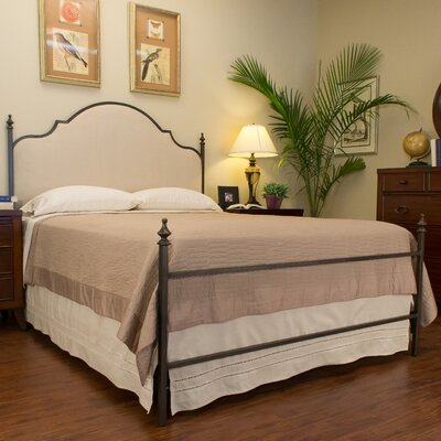 Waterburg Upholstered Panel Bed Size: California King