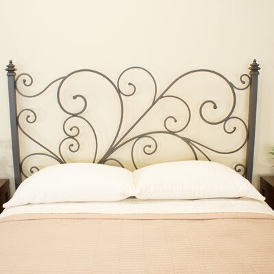 Holly Open-Frame Headboard Size: King