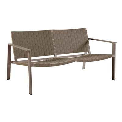 Pheniks Loveseat Finish: Taupe