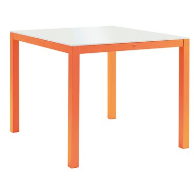 Agatha Ruiz De La Prada Pour Sifas 30 Dining Table Base Finish: Orange