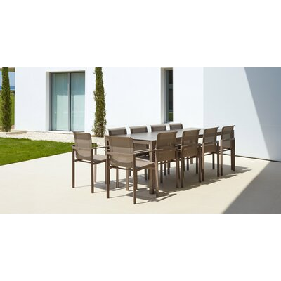 Kwadra Dining Table Table Size: 94.5 L x 39.4 W