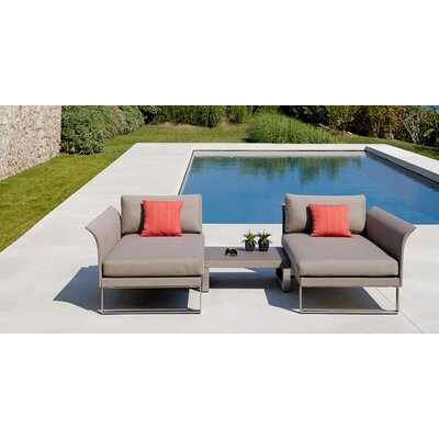 Komfy Chaise Lounge Set with Cushions