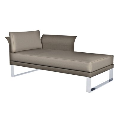 Komfy Chaise Lounge with Cushions