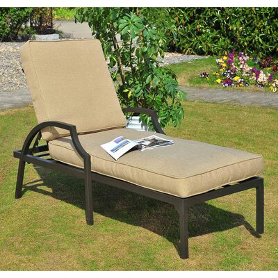 Prescott Chaise Lounge with Cushion