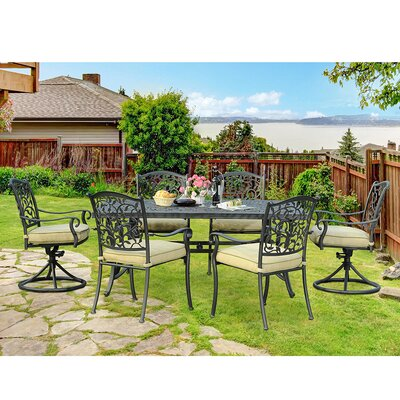 Legacy 7 Piece Dining Set with Cushions
