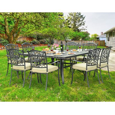 Legacy 9 Piece Dining Set
