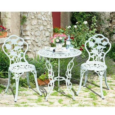 Lansdale 3 Piece Bistro Set