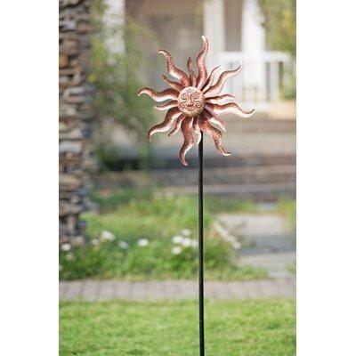 Sun Face Garden Stake 110309041