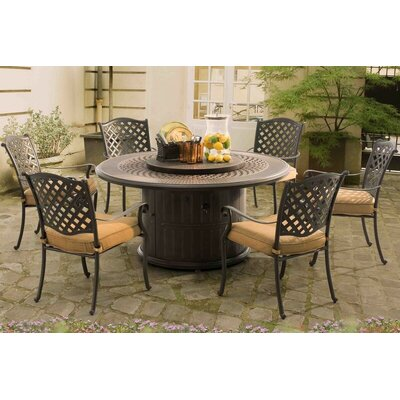 Ceylon 7 Piece Dining Set