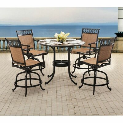 Delilah 5 Piece Dining Set