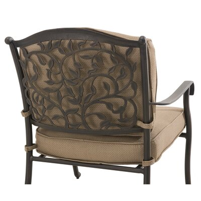 Legacy 4 Piece Lounge Seating Group with Cushions