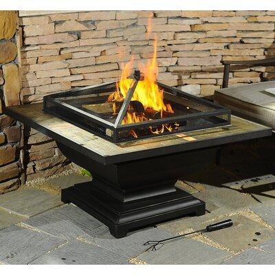 Sunjoy D Ft013pst Trent Steel Wood Burning Fire Pit