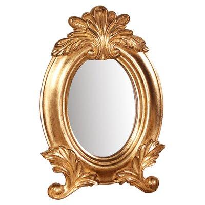 Bright Gold Wall Mirror