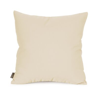 Starboard Indoor/Outdoor Throw Pillow Size: 16 x 16, Color: Stone
