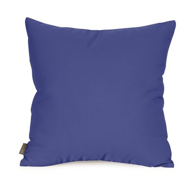 Starboard Indoor/Outdoor Throw Pillow Size: 16 x 16, Color: Ocean