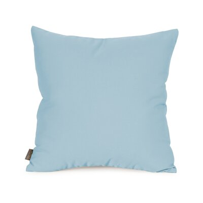 Starboard Indoor/Outdoor Throw Pillow Size: 16 x 16, Color: Breeze
