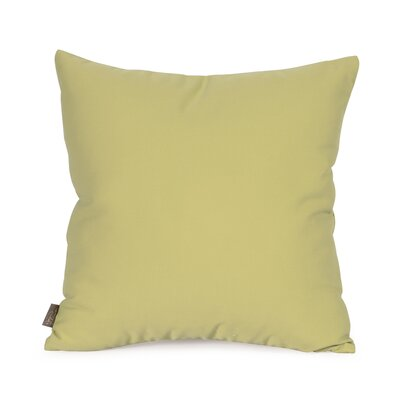 Starboard Indoor/Outdoor Throw Pillow Size: 16 x 16, Color: Willow