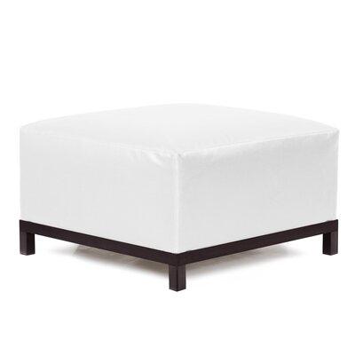 Woodsen Ottoman Slipcover Upholstery: Atlantis White