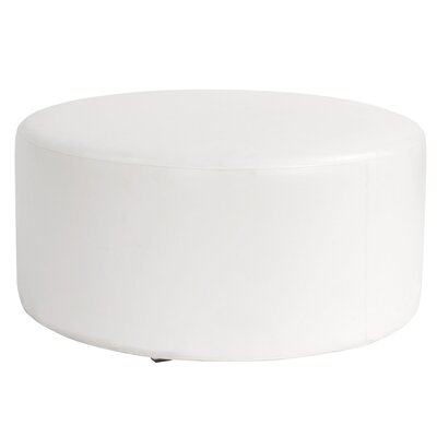 Shad Round Cover Color: Atlantis White