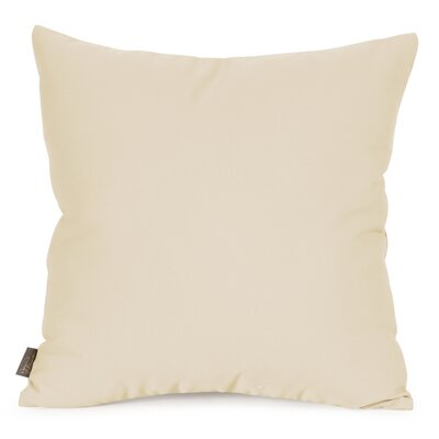 Starboard Indoor/Outdoor Throw Pillow Size: 20 x 20, Color: Stone