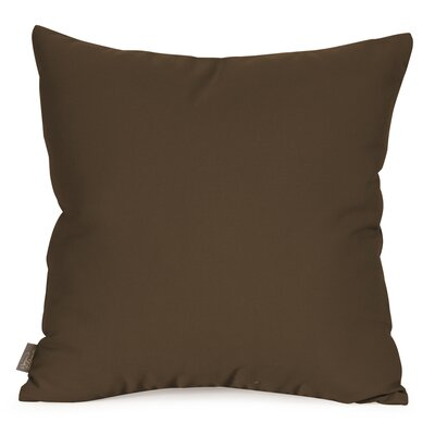 Starboard Indoor/Outdoor Throw Pillow Size: 20 x 20, Color: Chocolate