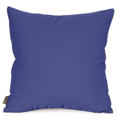 Starboard Indoor/Outdoor Throw Pillow Size: 20 x 20, Color: Ocean