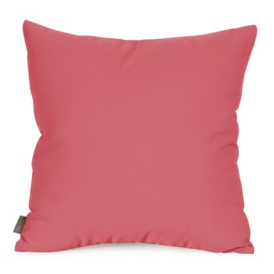 Starboard Indoor/Outdoor Throw Pillow Size: 20 x 20, Color: Punch