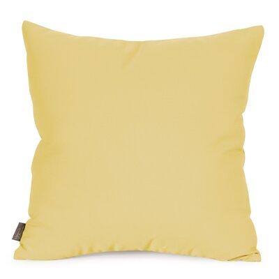 Starboard Indoor/Outdoor Throw Pillow Size: 20 x 20, Color: Sunflower