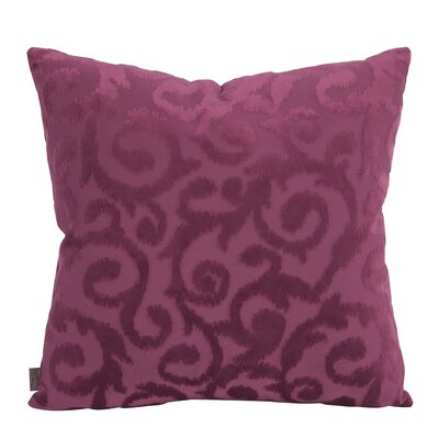 Blur Throw Pillow Size: 20 x 20, Color: Magenta