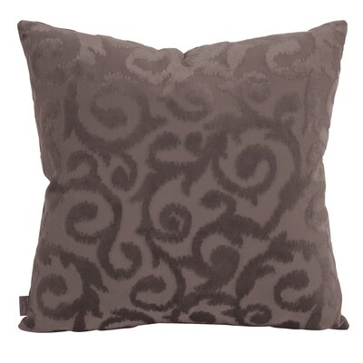 Blur Throw Pillow Size: 20 x 20, Color: Pewter