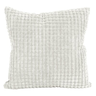 Tempo Throw Pillow Size: 20 x 20, Color: White