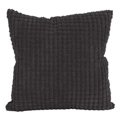 Tempo Throw Pillow Size: 20 x 20, Color: Black