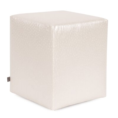 Boyle Universal Cube Ottoman Upholstery: Pearl