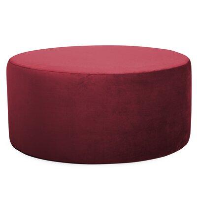 Mayer Universal Round Ottoman Upholstery: Merlot