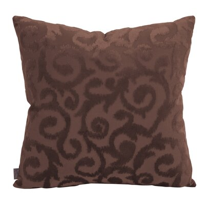Blur Throw Pillow Size: 20 x 20, Color: Chocolate