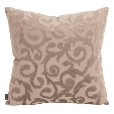 Blur Throw Pillow Size: 20 x 20, Color: Sand