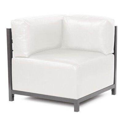 Woodsen Avanti Corner Chair Finish: Titanium, Color: White