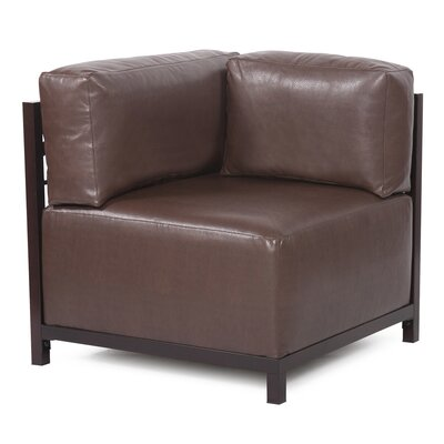 Woodsen Avanti Arm Chair Finish: Mahogany, Upholstery: Pecan
