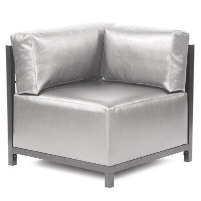 Woodsen Shimmer Corner Chair Slipcover Upholstery: Mercury