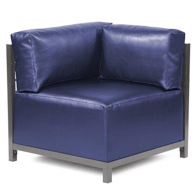 Woodsen Shimmer Corner Chair Slipcover Upholstery: Sapphire