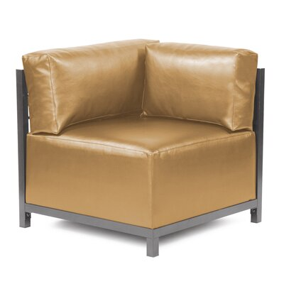 Woodsen Shimmer Corner Chair Slipcover Upholstery: Gold