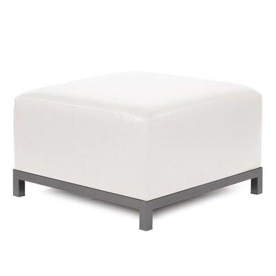 Woodsen Avanti Ottoman Slipcover Upholstery: White