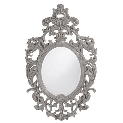 Oval Resin Vertical Mirror Finish: Nickel