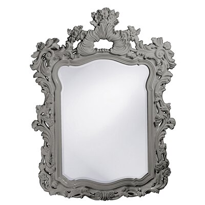 Rectangle Glossy Lacquer Resin Mirror Finish: Nickel