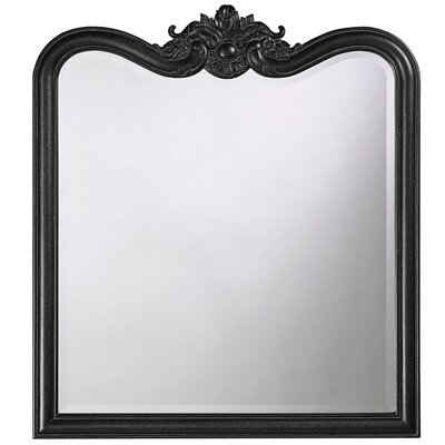 Rectangle Resin Vertical Mirror Finish: Black